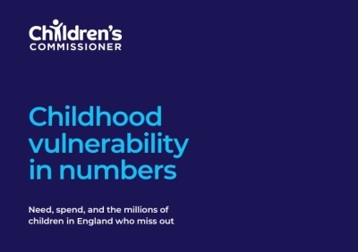 Childhood Vulnerability Report In Numbers.