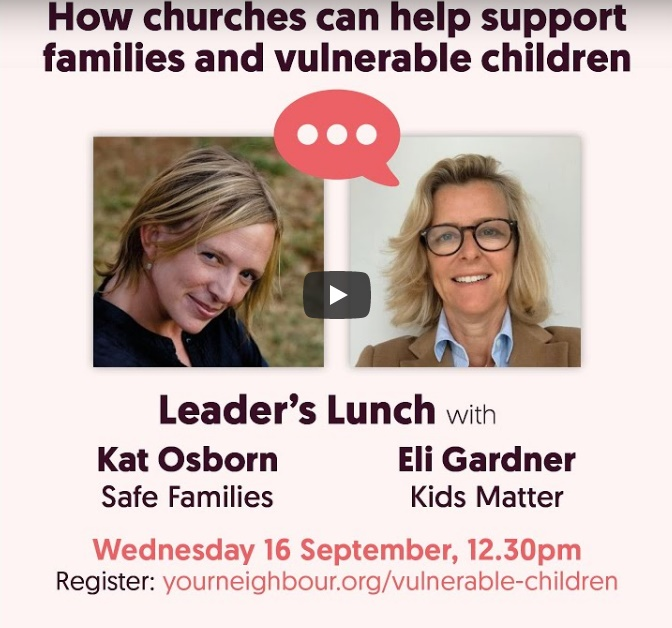 Your Neighbour Leaders Lunch Eli Gardner Kat Osborn